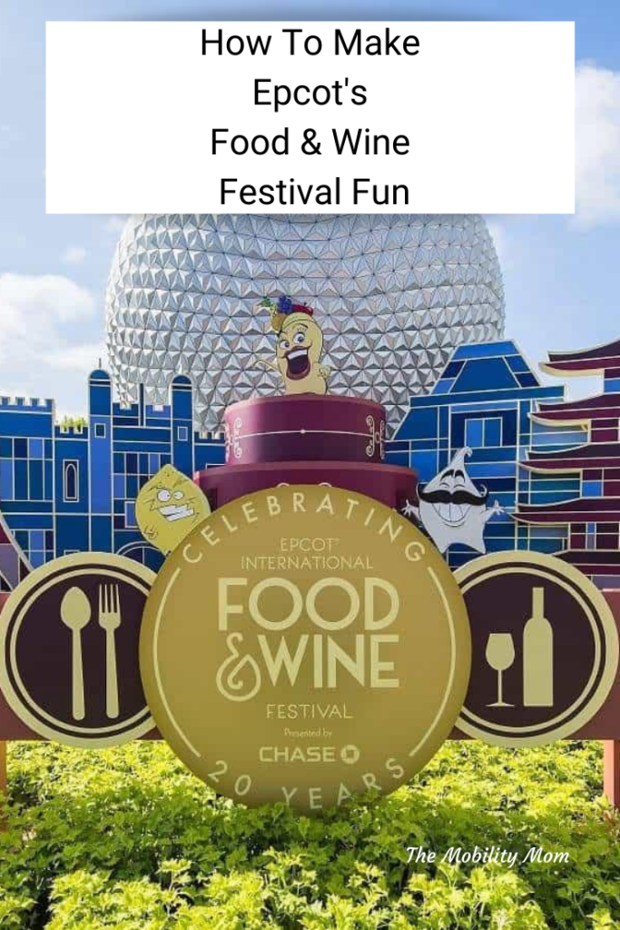 How To Make Epcot's Food & Wine Festival Fun