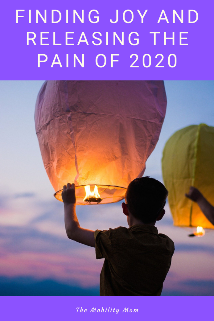 Finding Joy And Releasing The Pain of 2020