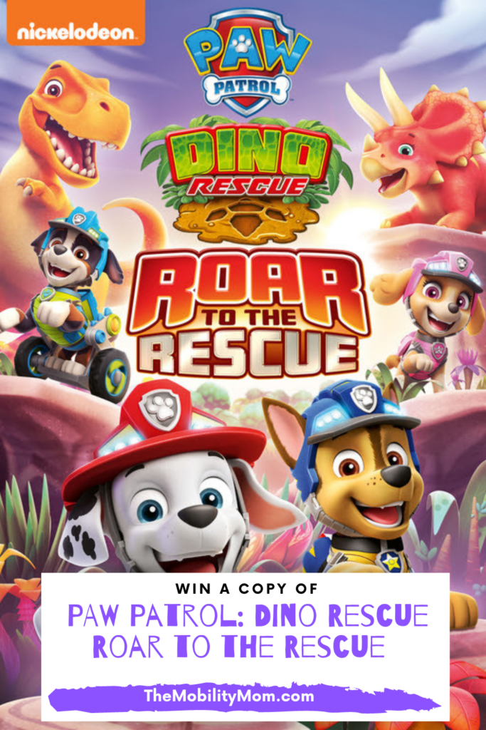 PAW Patrol: Dino Rescue Roar to the Rescue Giveaway!!